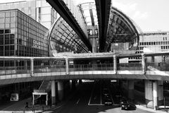 Kenchomae Monorail Station, Chiba Royalty Free Stock Images