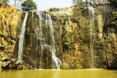 Kendai fall a picnic spot at korba , chhattisgarh, india royalty free stock photos