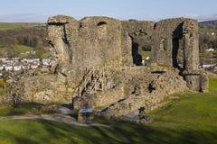 Kendal城堡在Cumbria 免版税库存照片