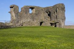 Kendal城堡在Cumbria 库存图片