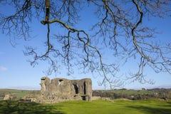 Kendal城堡在Cumbria 库存照片