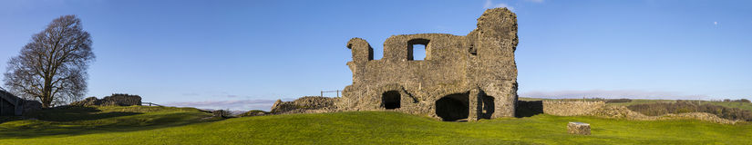 Kendal Castle in Cumbria Royalty Free Stock Photo