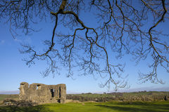 Kendal Castle in Cumbria Royalty Free Stock Photos