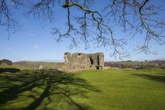 Kendal Castle en Cumbria Imagen de archivo libre de regalías