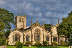 Kendal Parish Church. A view of the East side of Kendal Parish Church, Cumbria, England Royalty Free Stock Images