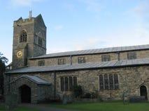 Kendal Parish Church. The parish church of Kendal, Cumbria, UK stock photos