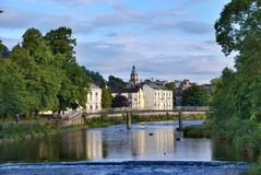 Kendal River Scene Royalty Free Stock Images