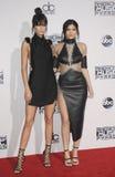 Kendall Jenner en Kylie Jenner Stock Afbeeldingen
