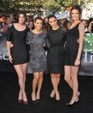 Kendall Jenner,Kim Kardashian,Kourtney Kardashian,Kylie Jenner Royalty Free Stock Photo