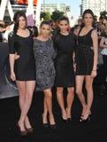 Kendall Jenner,Kim Kardashian,Kourtney Kardashian,Kylie Jenner Royalty Free Stock Image