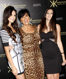 Kendall Jenner, Kris Jenner and Kylie Jnner Royalty Free Stock Photography