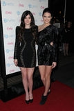 Kendall Jenner, Kylie Jenner Стоковые Изображения RF