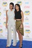 Kendall Jenner & Kylie Jenner Arkivfoto