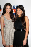 Kendall Jenner, Kylie Jenner arrives at the 19th Annual Race to Erase MS gala. LOS ANGELES - MAY 18:  Kendall Jenner, Kylie Jenner arrives at the 19th Annual Royalty Free Stock Image