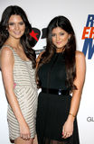 Kendall Jenner and Kylie Jenner Stock Photography