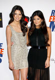 Kendall Jenner and Kylie Jenner Royalty Free Stock Image
