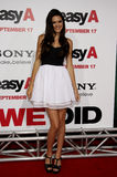 Kendall Jenner. At the Los Angeles Premiere of `Easy A` held at the Grauman`s Chinese Theater in Hollywood, California, United States on September 13, 2010 Royalty Free Stock Photo