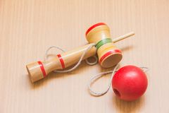 Kendama Stockfoto