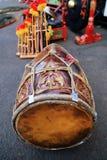 Kendhang est un instrument dans le Javanese central et occidental gamelan photos libres de droits