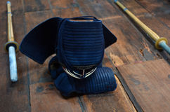 """Kendo†""""Japanse Vechtsporten Royalty-vrije Stock Afbeeldingen"""