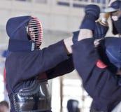 kendo体育运动 免版税库存照片