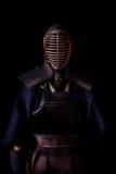 Kendo战士 图库摄影