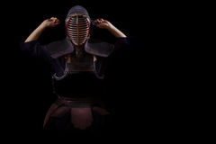 Kendo战士 库存图片