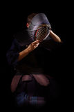 Kendo战士 免版税库存图片