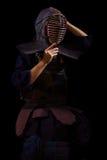Kendo战士 免版税库存照片