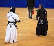 kendo符合 免版税库存照片