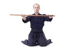 kendo μαχητών Στοκ εικόνες με δικαίωμα ελεύθερης χρήσης