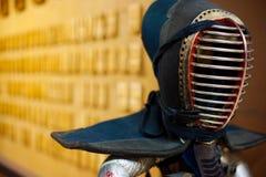 kendo τεχνών τεθωρακισμένων πο& Στοκ Εικόνες