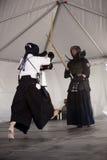 kendo демонстрации Стоковая Фотография RF
