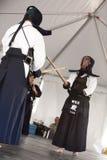 kendo демонстрации стоковые фотографии rf