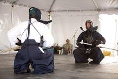 kendo демонстрации Стоковое фото RF