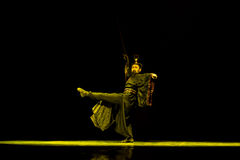 Kendo-Chinese Classical Dance Stock Image
