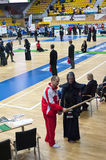 Kendo competition Royalty Free Stock Images