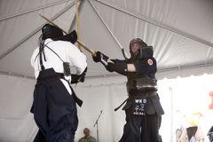 Kendo Demo Royalty Free Stock Image