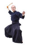 Kendo fighter Stock Photography
