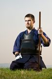 Kendo fighter Stock Photo