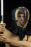 Kendo fighter Royalty Free Stock Image