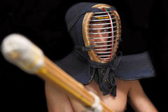 Kendo fighter Stock Images