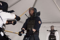 Kendo Hit Royalty Free Stock Images