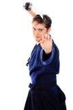 Kendo kämpe Royaltyfri Fotografi