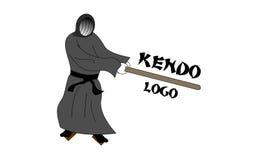 Kendo logo Obrazy Stock