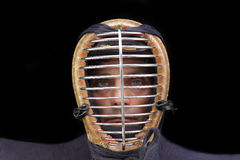 Kendo man closeup Royalty Free Stock Image