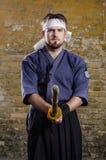 Kendo master Royalty Free Stock Image