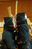 Kendo match Stock Photos