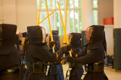 Kendo practice Royalty Free Stock Photography
