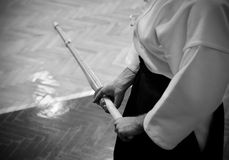 Kendo Training Stock Image